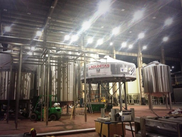 The new Lagunitas brewery in Chicago. Photo by, and courtsey of, Tony Magee.