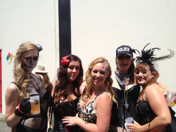 Lagunitas Beer Circus attendees (Photo by Peter Lopez)